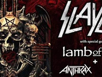 Slayer 20 Novembre 2018 Mediolanum Assago